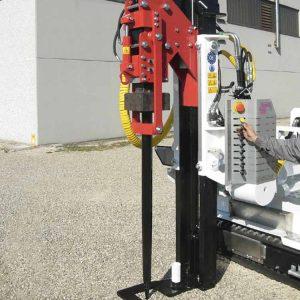 Máquina hincadoras (hincapostes) para vallas