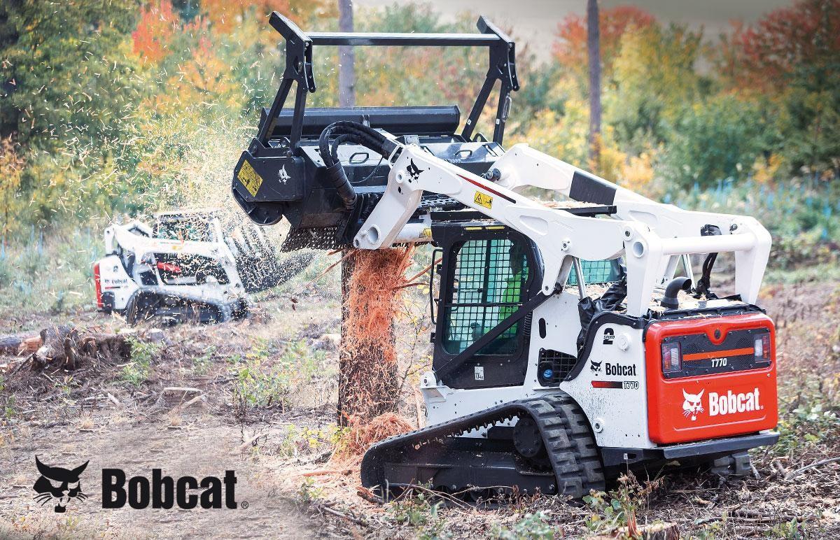 Alquiler cargadoras de orugas alto caudal Bobcat T770
