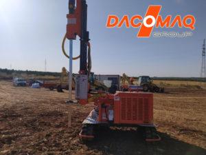 Alquiler de Hincadora sin operario en Badajoz