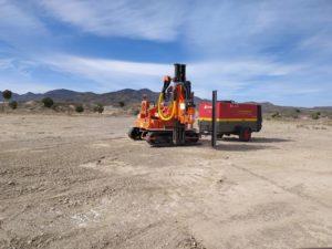 Proyecto hincadora de postes en Macael, Almeria