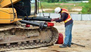Reparación de maquinaria de obra pública